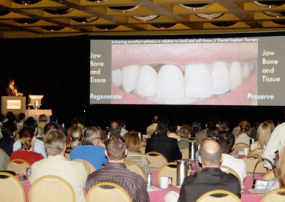 Lecture to International Implant Conference in Miami
